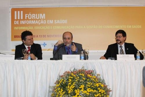 III Foro Nacional de Información en Ciencias de la Salud, Brasilia, 2009