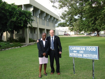 Instituto de Alimentos y Nutrición del Caribe, Kingston, Jamaica