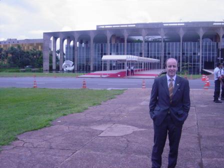 Ministerio de las Relaciones Exteriores de Brasil (Itamarati), Brasilia, Brasil