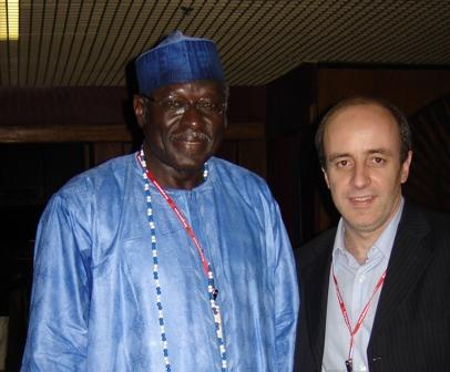 Adama Samaseku, Presidente de la Academia Africana de Lenguas, Lider de la Sociedad de la Información