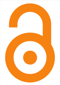 Logo original para la iniciativa Open Access