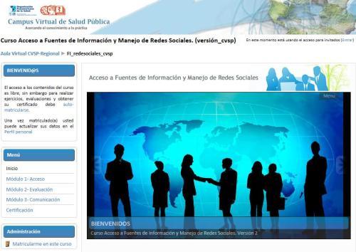 Acceso a fuentes de informacion en salud y redes sociales