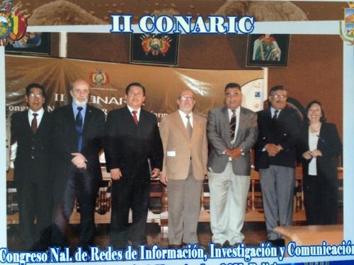 Conferencia inaugural del CONARIC II, Sucre, Bolivia, Noviembre de 2011