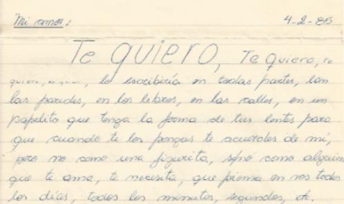 Carta de 1985