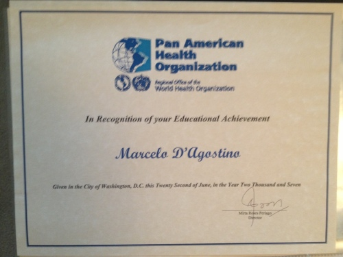 Award-PAHO-Education